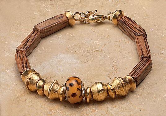"""Petra Waszak: Bracelet """"Leopard"""""""