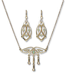 "Jewelry Set ""Opal"""