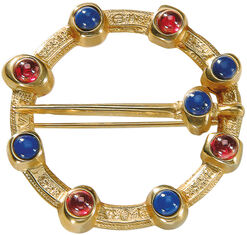 Medieval friendship brooch