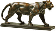 "Sculpture ""Panther"" bronze edition"