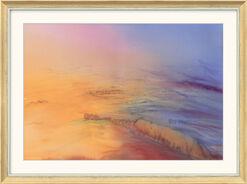 "Bild ""Mediterran"" (2009) (Original / Unikat), gerahmt"