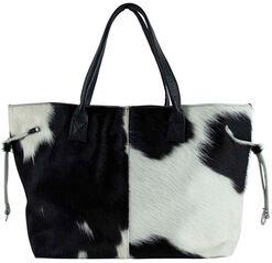 """Handtasche """"Black & White"""" inkl. extra Innentasche"""