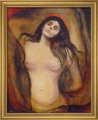 "Painting ""Madonna"", 1894"