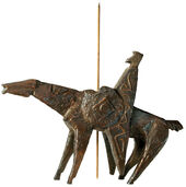 "Sculpture ""Don Quixote"", Bronze"