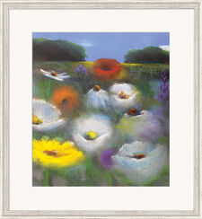 "Picture  ""Flower Landscape"""