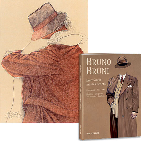 """Bruno Bruni: """"Emotions of my life"""" - edition with lithograph """"Kiss"""""""