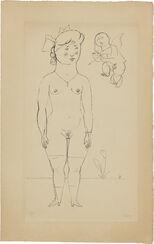 "Bild ""Nachbars Lenchen oder Frühlings Erwachen"" (1919/1921)"