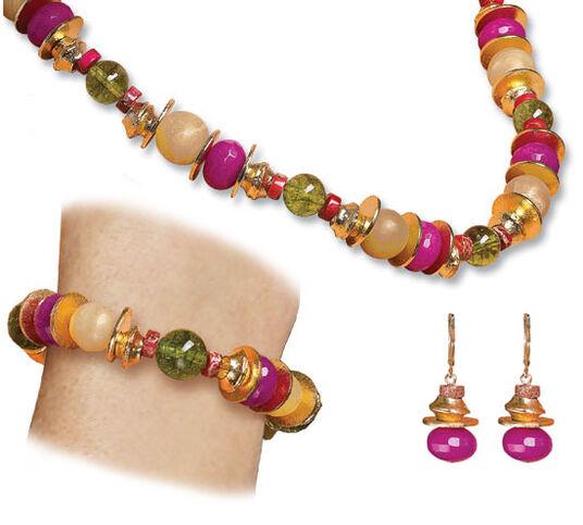 "Petra Waszak: Jewelry Set ""Henriette"""