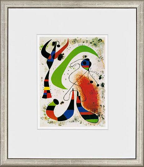 "Joan Miró: Painting ""La nuit – The Night"", 1953"