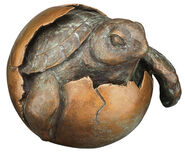 "Sculpture ""Tortoise"", bronze"