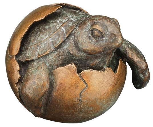 "Kathrina Sofie: Sculpture ""Tortoise"", bronze"