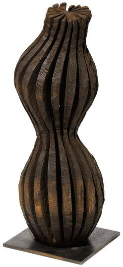 "Alexander Heil: Skulptur ""Kleiner Raumträumer"" (2015) (Unikat), Robinienholz"