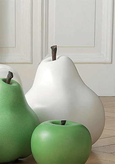 "Ceramic Object ""Pears White"", (small version - figure)"