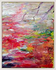 """Bild """"pink water music"""" (2015) (Unikat)"""