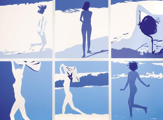 """Werner Berges: Bild """"Landscape"""" (1971)"""