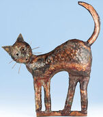 "Sculpture ""Kater Murr"", copper"