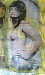 """Bild """"Bianca"""" (2008) (Original / Unikat), ungerahmt"""