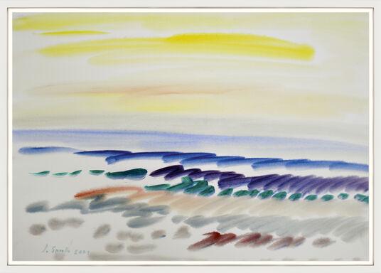 "Siegward Sprotte: Bild ""Gesang des Meeres"" (2001) (Unikat)"