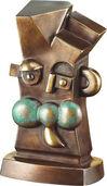 """Skulptur """"Der Wächter"""" (2005), Bronze"""