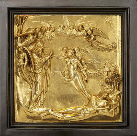 Lorenzo Ghiberti: Wall relief 'Creation of Eve' (reduction)