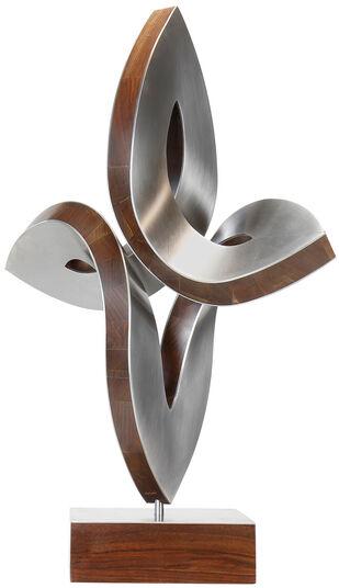"Nikolaus Weiler: Skulptur ""Vertikale Begegnung"" (2016) (Original / Unikat)"