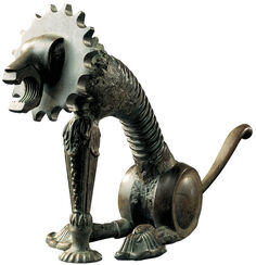 "Zodiac object ""Lion"" - of everyday objects"