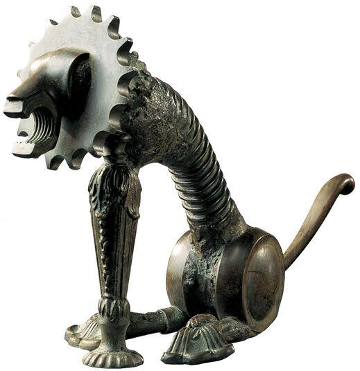 """Meta Morfosi: Zodiac object """"Lion"""" - of everyday objects"""