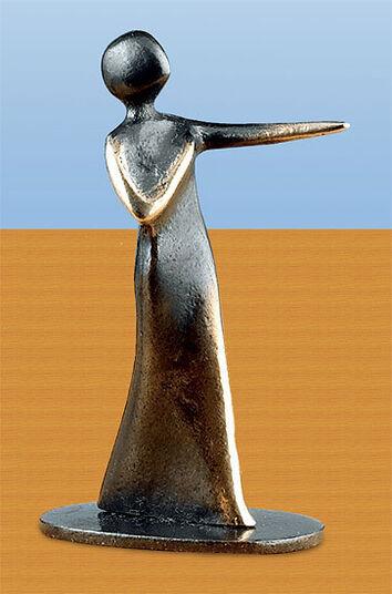 Kerstin Stark: Sculpture 'My Heart Calls for You!', bronze