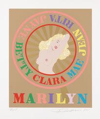 """Bild """"Sunburst Marilyn"""" (2001)"""