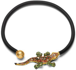 "Necklace ""Salamander"""