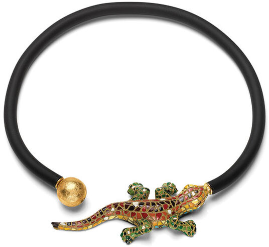 "Anna Mütz: Necklace ""Salamander"""
