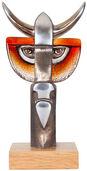 """Glasskulptur """"Taurus III"""""""