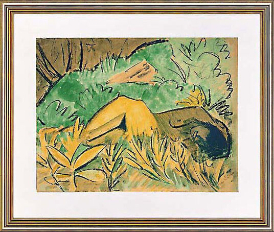 "Otto Mueller: Picture  ""Nude"""