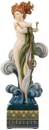 "Michael Parkes: Porzellanskulptur ""Venus"", handbemalt"