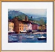 "Bild ""Portofino"" (2008), gerahmt"