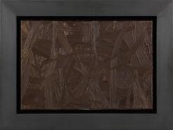 "Bild ""Vermalung (braun)"" (1972) (Unikat)"