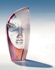 "Glasobjekt ""Masquerade"""