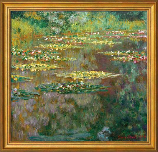 "Claude Monet: Bild ""Nymphéas"" (1904), gerahmt"