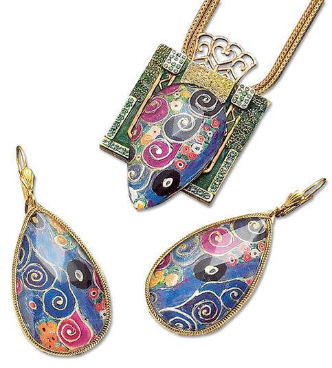 Petra Waszak: Jewelry set 'Maiden'