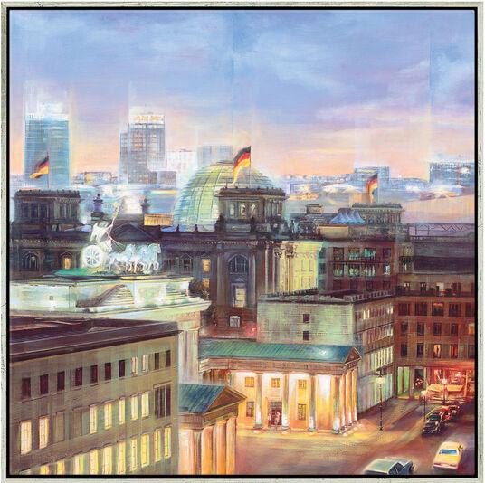 """Namazbek Chekirov: Bild """"Berlin"""" (2008), gerahmt"""