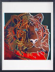 "Bild ""Tiger"", gerahmt"