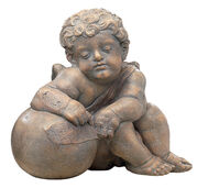 "Replica ""Cherub of the Fugger Chapel V"" (around 1530), cast stone"