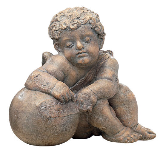 "Hans Daucher: Replica ""Cherub of the Fugger Chapel V"" (around 1530), cast stone"