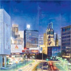 """Bild """"Berlin by Night"""" (2008), ungerahmt"""
