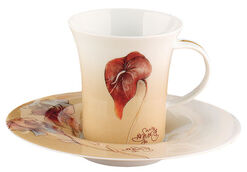 """Cup and Saucer """"Amore per i fiori"""""""