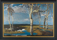 "Picture ""Birches in Worpswede"""