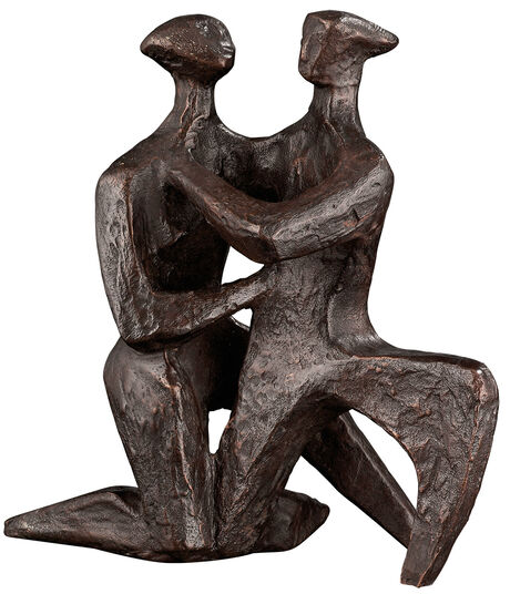"Sepp Mastaller: Sculpture ""The Commitment of Love"", Bronze"