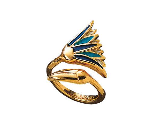 Christiane Wendt: Lotus Blossom ring