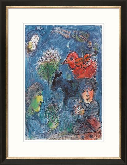 """Marc Chagall: Bild """"L'été"""", gerahmt"""