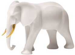 "Sculpture ""Elephant"", Version in Artificial Marble"
